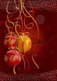 Carte postale de Noël Photos libres de droits