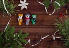 Carte postale de Noël Images stock