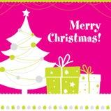 Carte postale de Noël Photographie stock