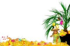 Carte postale de Pâques Images stock