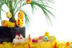 Carte postale de Pâques Image libre de droits