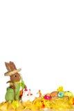 Carte postale de Pâques Images libres de droits