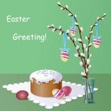 Carte postale de Pâques Photographie stock libre de droits
