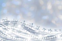 Carte postale de salutations de Noël Photographie stock libre de droits