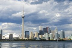 Carte postale de Toronto Photo stock