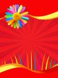 Carte postale de vacances Photographie stock