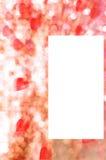 Carte postale de Valentine Photo stock