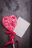 Carte postale de Valentine Day Photo stock