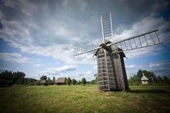 Carte postale de village de la Pologne Photos stock