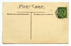 Carte postale de vintage Photos libres de droits