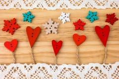 Carte postale du jour de Valentine mariage Images stock