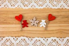 Carte postale du jour de Valentine mariage Photos stock