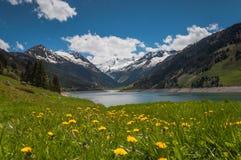Carte postale du Tyrol Images libres de droits