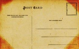 Carte postale faisante le coin acide images stock