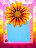 Carte postale gaie Photo libre de droits