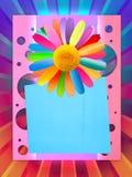 Carte postale gaie de vacances Photo libre de droits