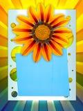 carte postale gaie de vacances Image libre de droits
