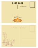 Carte postale pour l'Arizona Photo stock