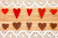 Carte postale pour Valentine Photos libres de droits