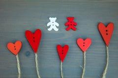 Carte postale pour Valentine Images libres de droits
