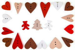 Carte postale pour Valentine Photographie stock