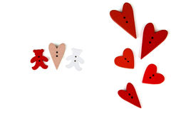 Carte postale pour Valentine Image stock