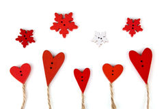 Carte postale pour Valentine Photos stock
