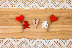 Carte postale pour Valentine Photo stock