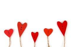 Carte postale pour Valentine Image libre de droits