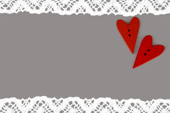 Carte postale pour Valentine Photo stock
