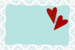 Carte postale pour Valentine Photo libre de droits