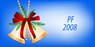 Carte pour la conception de Noël Photo libre de droits