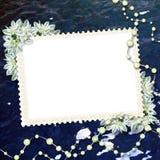 Carte pour la félicitation Photographie stock