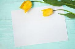 Carte pour Pâques, le 8 mars, jour de mères Images stock