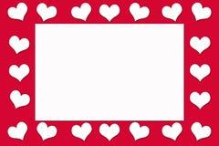 Carte pour Valentine& x27 ; jour de s Images libres de droits