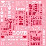 Carte pour Valentine& x27 ; jour de s Photo libre de droits