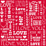 Carte pour Valentine& x27 ; jour de s Images stock