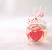 Carte romantique photo stock