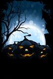 Carte sale de Halloween Image libre de droits
