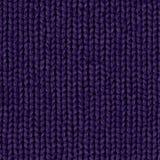 Carte sans couture diffuse de la texture 7 de tissu indigo Image libre de droits