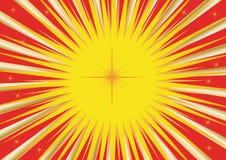 Carte solaire illustration libre de droits