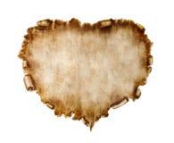 Carte stylisée de Valentine de beau cru Photographie stock libre de droits