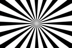 Carte-test noire et blanche Photo libre de droits