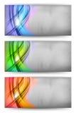 Carte trois abstraite Images libres de droits