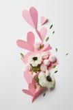 Carte vide de valentine de copyspace Photo stock