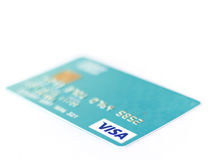 Carte visa Photographie stock