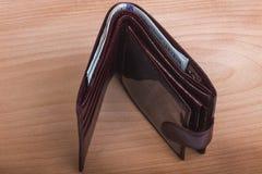 Carteira com dinheiro Foto de Stock Royalty Free