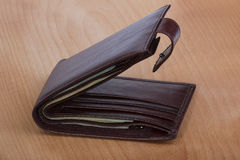 Carteira com dinheiro Fotos de Stock Royalty Free