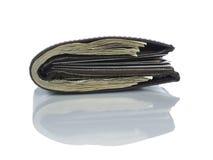 Carteira completamente dos dólares Imagens de Stock
