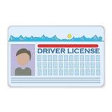 Carteira de motorista Fotos de Stock Royalty Free